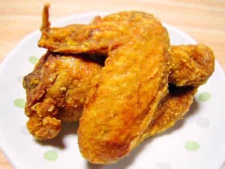 唐揚げ(カレー味)