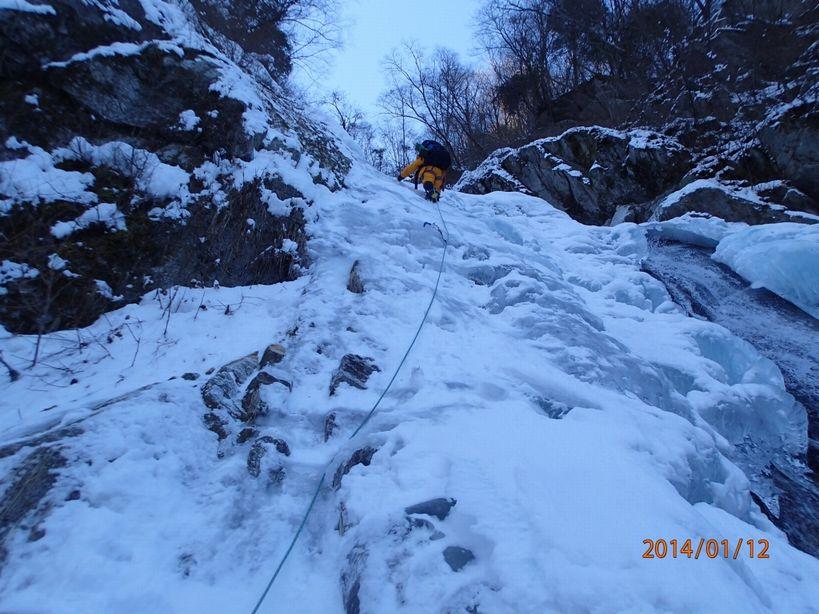 氷瀑30m