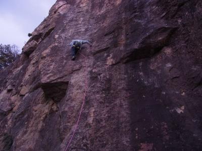 resizeリードで登るHさんRIMG1129