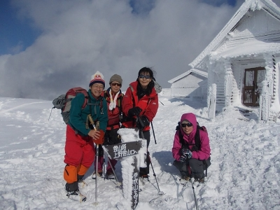 頂上(1,377m)