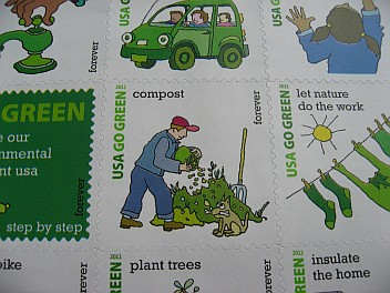 Compost stamp