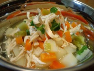 特製スープよ♥