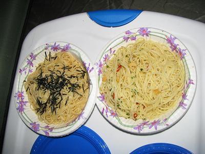 まぜるだけのスパゲティーで簡単ディナー