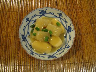 里芋とこんにゃくの味噌煮