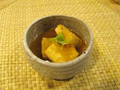 揚げ豆腐のおろし煮