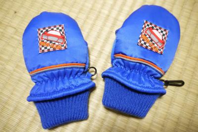 手袋ビフォアー