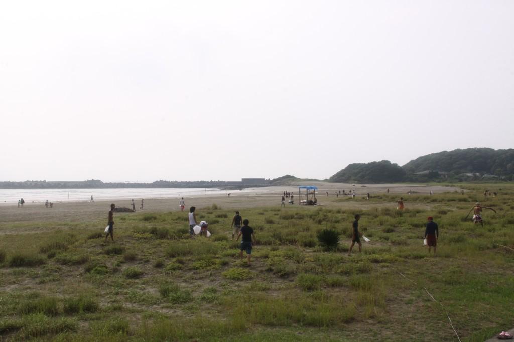 20120812-ビーチクリーン1