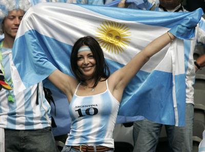 アルゼンチンのサポーター