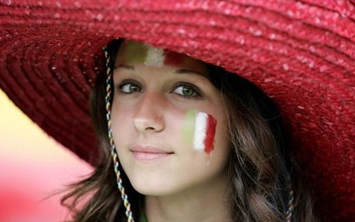 イタリアサポーター