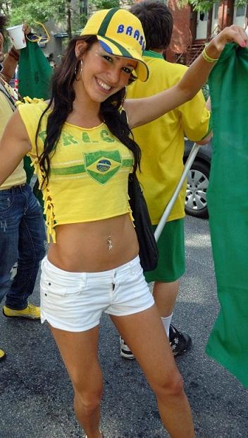 ブラジルサポーター2