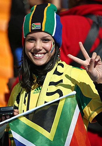 南アフリカサポーター