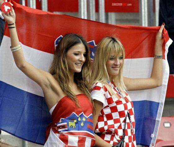 クロアチアサポーター