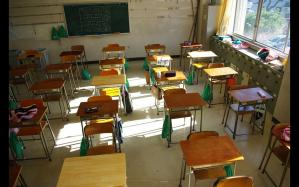 夏休みの教室