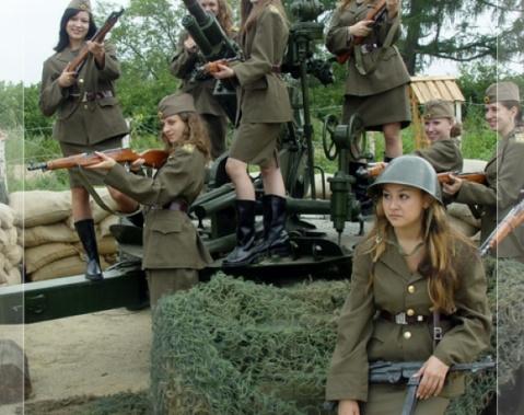 ブルガリア軍女性兵