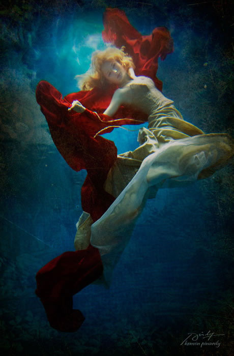 水中の芸術