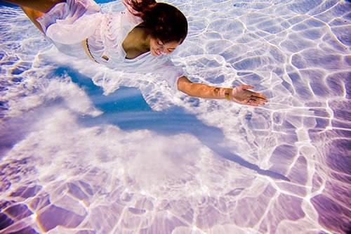 水中芸術1