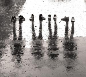 ある雨の日