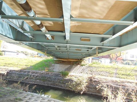 黒目川の樋の橋@新座市F