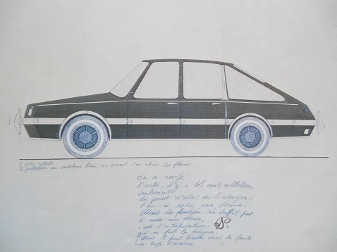 ジオポンティのクルマ1953b