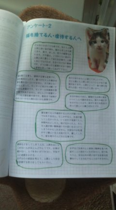 M君卒業記念冊子