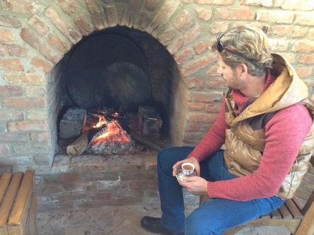 暖炉いいな~・・・