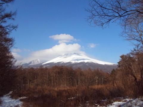 浅間山20100124