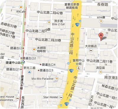 Gaudio地図