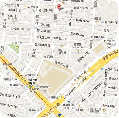 雲南小鎮餐坊地図