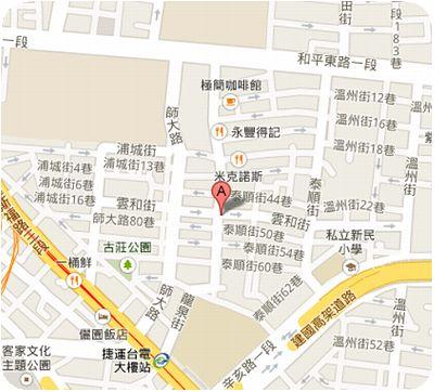 飯館兒地図