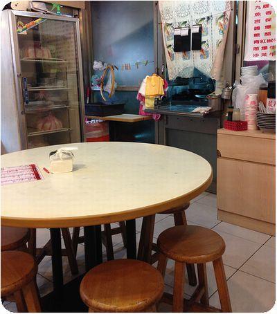 一品山西刀削麺之家テーブル