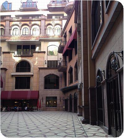 マンダリン台北中庭