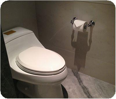 マンダリン台北部屋トイレ