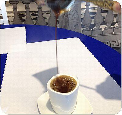 甜蜜王國ギリシャコーヒー