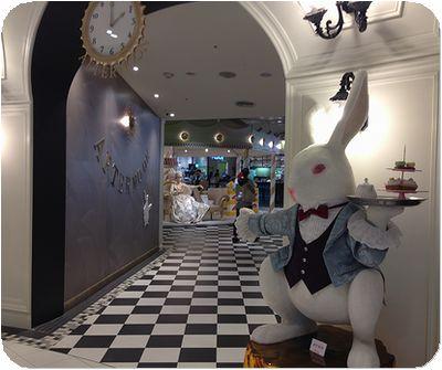 甜蜜王國店ウサギ