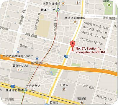 仁井田鮪魚丼地図