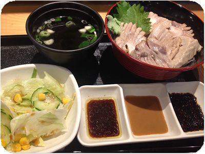 仁井田鮪魚丼丼セット