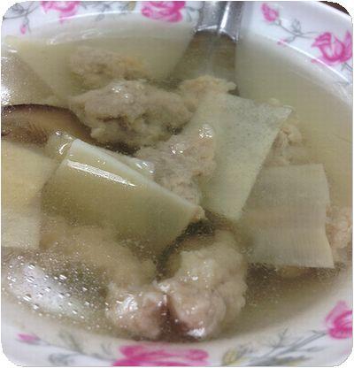 大橋頭油飯スープ