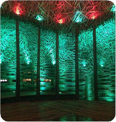 碧湖織屋床緑