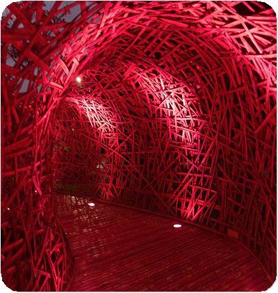 碧湖織屋廊下赤