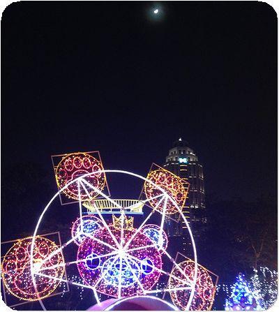 新北市歡樂耶誕城月