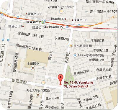 呂桑食堂地図