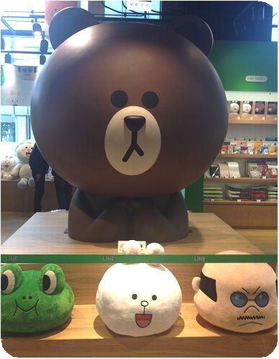 LINE FRIENDS STORE熊