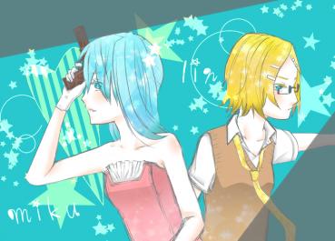 ミク&リン(結合