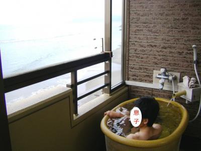 ホテル露天風呂