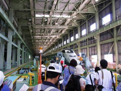 広大な台車工場