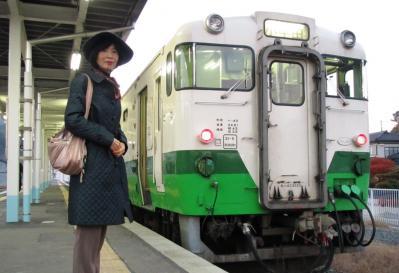 2010.11.21女川駅記念ショット