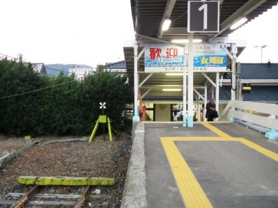 2010.11.21女川駅ホーム