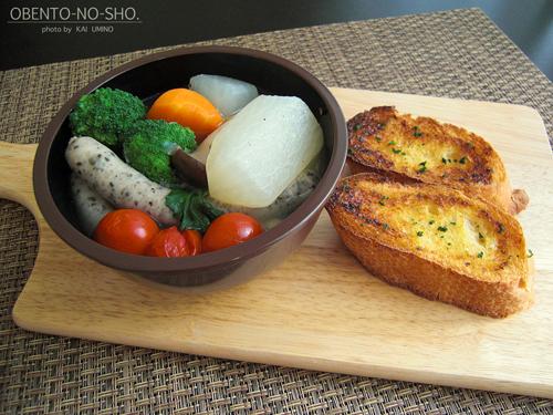 大根と白菜のポトフ弁当01