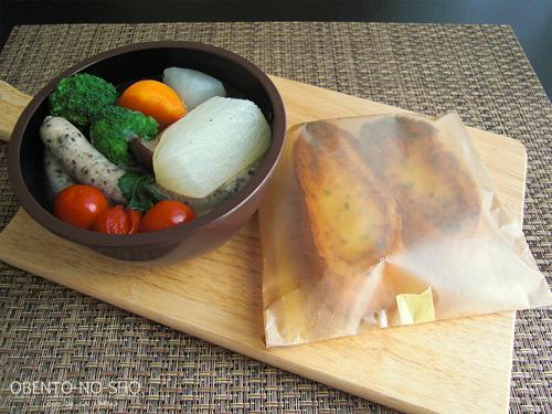 大根と白菜のポトフ弁当02