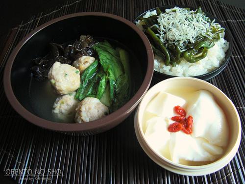 タモさん流ピーマン丼弁当01
